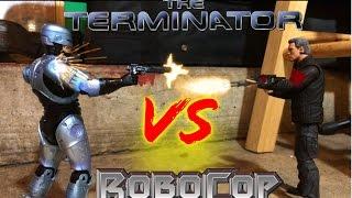 Robocop VS The Terminator STOP MOTION