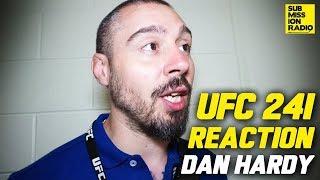 UFC 241: Dan Hardy Reacts to Nate Diaz Win, Stipe Miocic Beating Daniel Cormier, More!