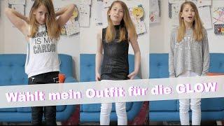 Wählt mein Outfit für die GLOW in Düsseldorf | Die Emmy