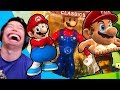 Reacting to Crappy Mario Memesmp3