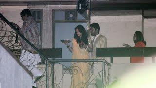 Karva Chauth Celebrations at Amitabh Bachchan Bunglow 2014