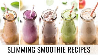 HEALTHY SMOOTHIE RECIPES | 5 smoothies for weight loss