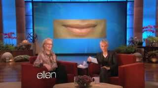 Meryl Streep Kisses and Tells (The Ellen show)