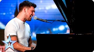 Josh Curnow puts his own spin on Green Day classic   Auditions Week 6   Britain's Got Talent 2016