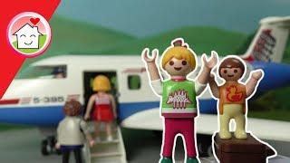 Playmobil Film deutsch - Am Flughafen -  Spielzeug Film für Kinder von Familie Hauser
