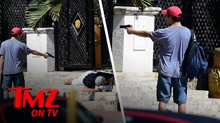 Versace Murder Scene Recreated! | TMZ TV