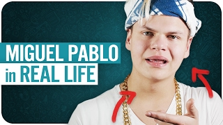 MIGUEL PABLO in REAL LIFE