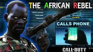 African Rebel CALLS KIDS PHONE on COD!