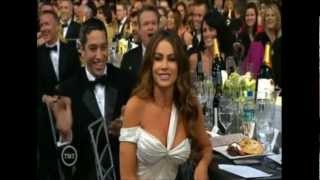 "Sofía Vergara: ""I already look like a hooker"" SAG 2013"
