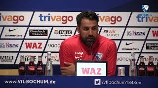 Die Pressekonferenz vor der Partie SV Darmstadt 98 - VfL Bochum 1848