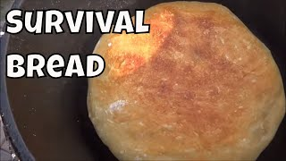 How to Make Simple Survival Bread with 4 Ingredients Long Term Survival Skills