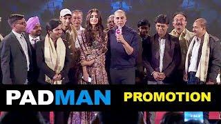 Padman Movie Promotion Full Video HD | Akshay Kumar, Sonam Kapoor