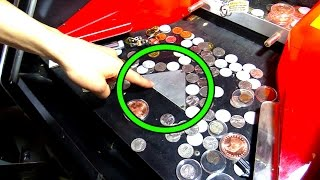 Coin Pushers EXPOSED! This is Why Arcade Coin Pushers Make Money! | Arcade Experiment |