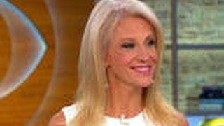 KELLYANNE CONWAY ON CBS THIS MORNING