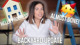 MAJOR MOVES! | BACKYARD CONSTRUCTION UPDATE