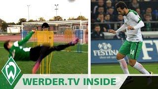 Traumtor-Training & Claudio Pizarro Comeback | WERDER.TV Inside | SV Werder Bremen