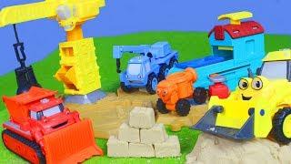 BOB DER BAUMEISTER: Bagger Lastwagen Kran Baustelle Kinderfilm | Bob the Builder deutsch für KINDER