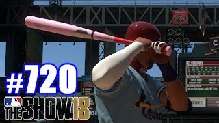 THEY ONLY LET YOU USE THIS BAT ONCE PER SEASON!   MLB The Show 18   Road to the Show #720