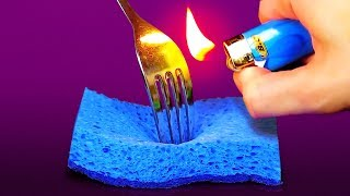 32 INSANELY CLEVER HACKS WITH EVERYDAY HOUSEHOLD ITEMS
