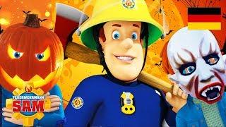 Feuerwehrmann Sam Deutsch Neue Folgen   Kürbisfest 🎃 Halloweenkostüm   Cartoons fur Kinder