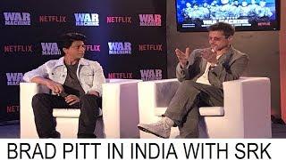 Brad Pitt with Sahrukh Khan In India || Brad Pitt In India ||