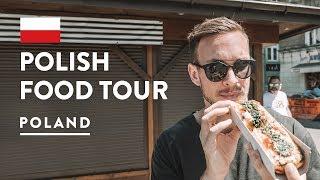 IS POLISH FOOD GOOD?! Krakow Food Tour - EatPolska Poland | Travel Vlog 2018