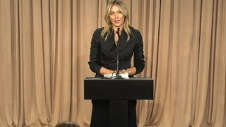 Maria Sharapova Admits Failed Drug Test