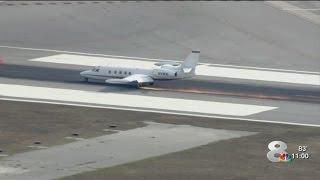 Plane loses wheel, makes emergency landing at Sarasota airport