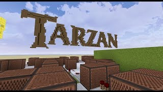 Phil Collins - Son Of Man - Tarzan [Minecraft Noteblocks]