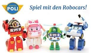 Ein Tag mit den Robocars. Robocar Poli auf Deutsch.