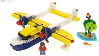 LEGO Creator Seaplane Adventures 3-in-1 review 🌴 31064