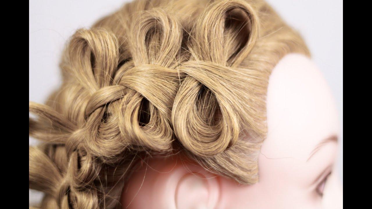 Косички плетение бантиком