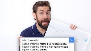 John Krasinski Answers the Web
