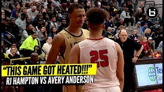 """""""THIS GAME GOT HEATED REAL QUICK!"""" RJ Hampton VS Avery Anderson"""
