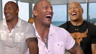 Dwayne Johnson Funny Moments 2017