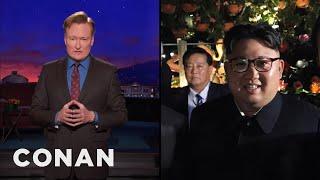Conan: The Kim Jong-un Photobomber Is Now Dead  - CONAN on TBS