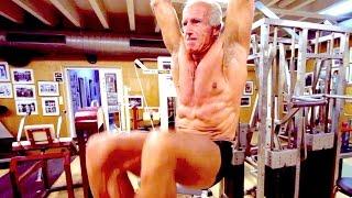 74 Jähriger Bodybuilder