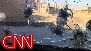 CNN reporter trapped with Iraqi forces during ISIS attack