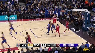 2nd Quarter, One Box Video: Washington Wizards vs. New York Knicks