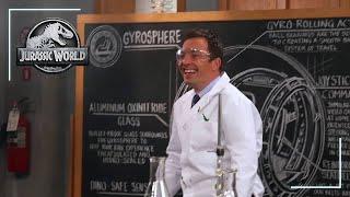 Jurassic World: Jimmy Fallon - Gyrosphere - Featurette