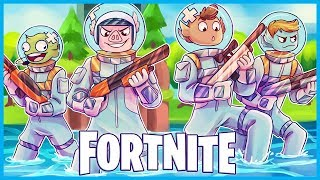 The FISH BOIS CONQUER EARTH in Fortnite: Battle Royale! (Fortnite Leviathan Skin Funny Moments)