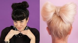 Women Try Pinterest Hair Tutorials
