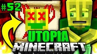 DAS ist DAS ENDE?! - Minecraft Utopia #052 [Deutsch/HD]
