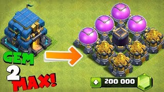 """GEM ENTIRE UPDATE TO MAX """"Clash Of Clans"""" WHAT WILL IT COST!?!"""