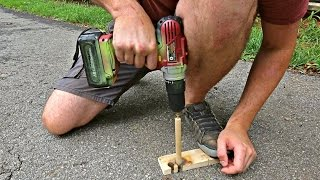 How to Start Fire with a Drill