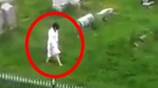 5 Cemetery Ghosts Caught on Camera