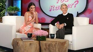 Lea Michele Plays Who