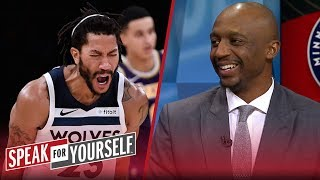 Jason Terry joins Whitlock and Wiley to talk Lakers and Derrick Rose | NBA | SPEAK FOR YOURSELF
