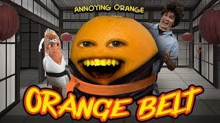 Annoying Orange HFA - ORANGE BELT (ft. Tobuscus & Billy Dee Williams)
