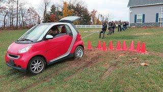 HUMANS vs SMART CAR Challenge!!